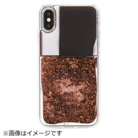 IPHORIA アイフォリア iPhone X/XS TPUケース Nailpolish Coco