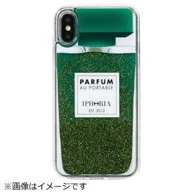 IPHORIA アイフォリア iPhone X/XS TPUケース Perfume Green