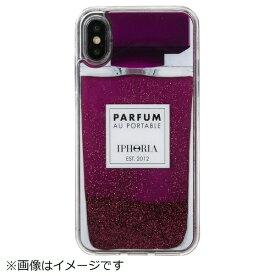 IPHORIA アイフォリア iPhone X/XS TPUケース Perfume Purple