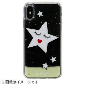 IPHORIA アイフォリア iPhone X/XS TPUケース Stars Black Gold