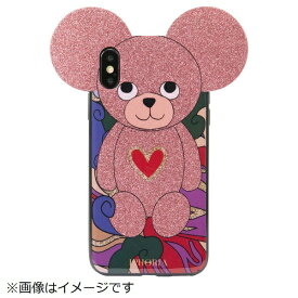 IPHORIA アイフォリア iPhone X/XS TPUケース Teddy Abstract Pattern