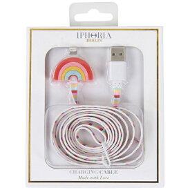 IPHORIA USBライトニングケーブル Rainbow