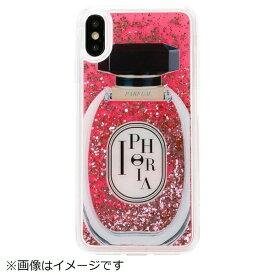 IPHORIA アイフォリア iPhone XS Max TPUケース Perfume Round Rose