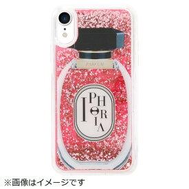 IPHORIA アイフォリア iPhone XR TPUケース Perfume Round Rose