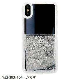 IPHORIA アイフォリア iPhone XS Max TPUケース Nail Polish Grey