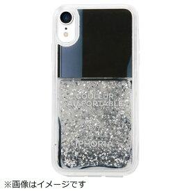 IPHORIA アイフォリア iPhone XR TPUケース Nail Polish Grey