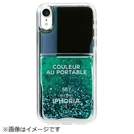 IPHORIA アイフォリア iPhone XR TPUケース Nail Polish Turquoise