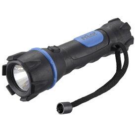 オーム電機 OHM ELECTRIC LEDラバーライト ブラック LHP-R07A7 [LED /単3乾電池×2 /防水]