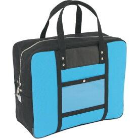 SANEI 三栄産業 SANEI 帆布メール用ボストン(LL)馬蹄錠金具付 ブルー BTLL-U-09