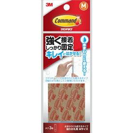 3Mジャパン スリーエムジャパン 3M コマンドタブ 水まわりにも使えるタイプ 貼りかえ用M CMT-WR-M