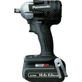 パナソニック Panasonic Panasonic デュアル 充電インパクトレンチ 14.4V5.0Ahセット 黒 EZ75A8LJ2F-B