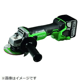 工機ホールディングス Koki HiKOKI 14.4Vコードレスディスクグラインダ6.0Ah ブレーキ付 G14DBBVL-LYPK