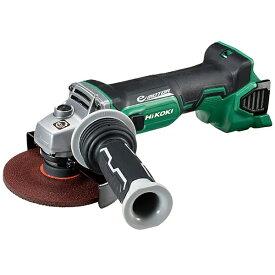 工機ホールディングス Koki HiKOKI 18Vコードレスディスクグラインダ本体のみ ブレーキ付 G18DBBVL-L125-NN