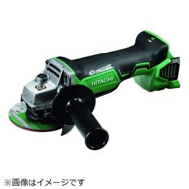 工機ホールディングス Koki HiKOKI 18Vコードレスディスクグラインダ本体のみ ブレーキ付 パドルスイッチ式 G18DBBAL-NN