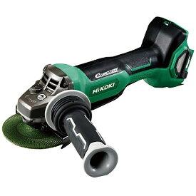 工機ホールディングス Koki HiKOKI 36Vコードレスディスクグラインダ100mm ブレーキ・パドルスイッチ 新マルチ本体のみ G3610DB-NN
