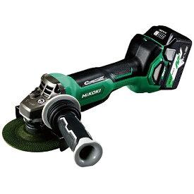 工機ホールディングス Koki HiKOKI 36Vコードレスディスクグラインダ125mm ブレーキ・パドルスイッチ 新マルチボルト G3613DB-XP