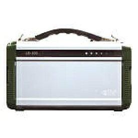 PIF ポータブル蓄電池 エナジー・プロmini[200W/h /ACx2・USBx2] LB-200 グリーンxシルバー