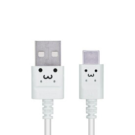 エレコム ELECOM スマートフォン用USBケーブル USB(A-C) 認証品 スリムカラフル 0.3m ホワイトフェイス MPA-ACXCL03NWF