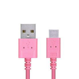 エレコム ELECOM スマートフォン用USBケーブル USB(A-C) 認証品 スリムカラフル 2.0m ピンク MPA-ACXCL20NPN