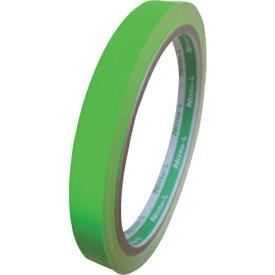 日東エルマテリアル Nitto L Materials 日東エルマテ 蛍光テープ 10mmX5m グリーン LK-10GN