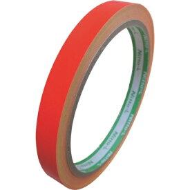 日東エルマテリアル Nitto L Materials 日東エルマテ 蛍光テープ 10mmX5m レッド LK-10R