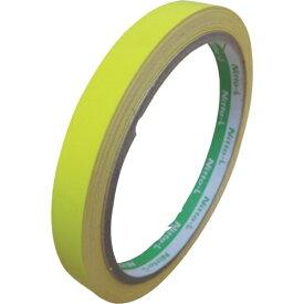 日東エルマテリアル Nitto L Materials 日東エルマテ 蛍光テープ 10mmX5m レモン LK-10LY