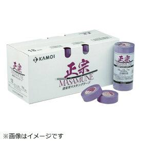 カモ井加工紙 KAMOI カモ井 マスキングテープ建築塗装 (4巻入) MASAMUNEJAN-30