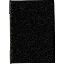 オープン工業 OPEN INDUSTRIES OP メニューファイル レザー調 B5 4頁 黒 MN-170-BK
