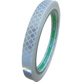 日東エルマテリアル Nitto L Materials 日東エルマテ 高輝度プリズム反射テープ10mmX5M ホワイト HTP-10W