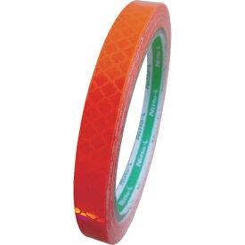 日東エルマテリアル Nitto L Materials 日東エルマテ 高輝度プリズム反射テープ(蛍光色)10mmX5M オレンジ HTP-10OR