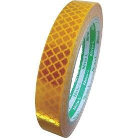 日東エルマテリアル Nitto L Materials 日東エルマテ 高輝度プリズム反射テープ15mmX5M イエロー HTP-15Y