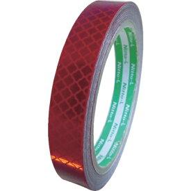 日東エルマテリアル Nitto L Materials 日東エルマテ 高輝度プリズム反射テープ15mmX5M レッド HTP-15R