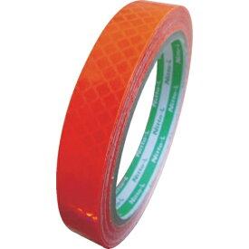 日東エルマテリアル Nitto L Materials 日東エルマテ 高輝度プリズム反射テープ(蛍光色)15mmX5M オレンジ HTP-15OR