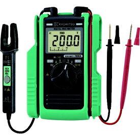 共立電気計器 KYORITSU KYORITSU 2000A AC/DCクランプ付デジタルマルチメータ KEWMATE2000A