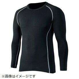 おたふく手袋 OTAFUKU GLOVE おたふく BTパワーストレッチ クルーネックシャツ ブラック L JW-174-BK-L