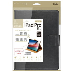 ナカバヤシ Nakabayashi iPadPro11inch(2018)用PUレザージャケット ブラック
