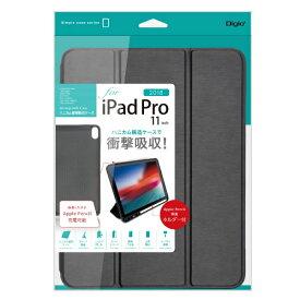 ナカバヤシ Nakabayashi iPadPro11inch(2018)用 ハニカム衝撃吸収ケース TBC-IPP1804BK ブラック