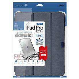 ナカバヤシ Nakabayashi iPadPro12.9inch(2018)用衝撃吸収ケース ネイビー