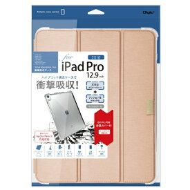 ナカバヤシ Nakabayashi iPadPro12.9inch(2018)用衝撃吸収ケース ピンク