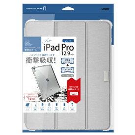 ナカバヤシ Nakabayashi iPadPro12.9inch(2018)用衝撃吸収ケース シルバー