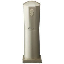 ドウシシャ DOSHISHA 電動かき氷器 「大人の氷かき器コードレス」 CDIS-19CGD シャンパンゴールド[CDIS19CGD]