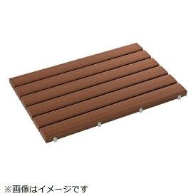 テラモト TERAMOTO テラモト 抗菌安全スノコ(組立品)600×1200茶 MR-093-343-4