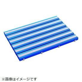 テラモト TERAMOTO テラモト 抗菌滑り止め安全スノコ(組立品)600×1200青 MR-098-443-3