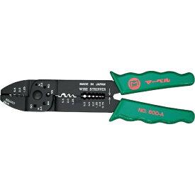 マーベル MARVEL マーベル 電工ペンチ (オープンバレル・裸圧着端子用) NO.600A