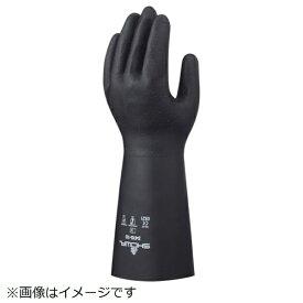 ショーワグローブ SHOWA ショーワ NO3415 クロロプレンゴム製耐溶剤手袋 XLサイズ NO3415-XL