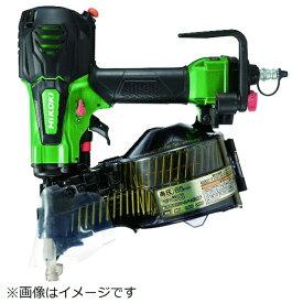 工機ホールディングス Koki HiKOKI 高圧ロール釘打機65mmメタリックグリーン NV65HR-SL