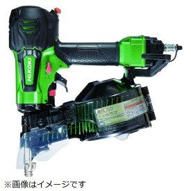 工機ホールディングス Koki HiKOKI 高圧ロール釘打機50mmメタリックグリーン NV50HR-SL