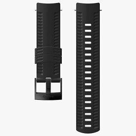 スント SUUNTO 時計関連品/腕時計替えベルト SUUNTO 9 BARO BLACKストラップ SS050105000 ブラック