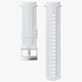スント SUUNTO 時計関連品/腕時計替えベルト SUUNTO 9 BARO WHITEストラップ SS050106000 ホワイト