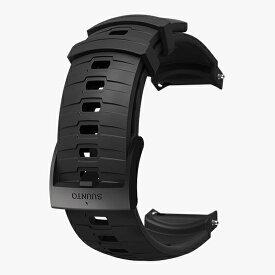 スント SUUNTO 時計関連品/腕時計替えベルト 24 EXP3 SILICONE STRAP STEALTH/BLACK M SS050013000 ブラック